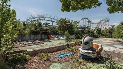 Creepy Abandoned Theme Parks All Over The World