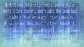 gutter installation Vancouver - Video