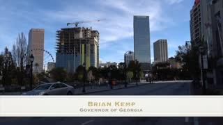 Brian Kemp (Governor of Georgia) connections with China