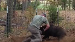 Jason vs Wild Hog - Video