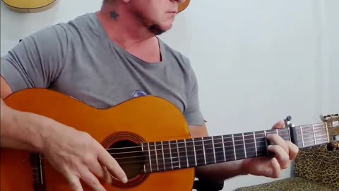 My guitar practice session