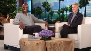 Kobe Bryant Teams Up with Ellen To Prank Doctor - Video