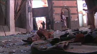 Twin suicide blasts kill at least 10, injure dozens in Yemeni capital - Video