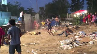 Teens Dance Over Dirt and Trash - Video