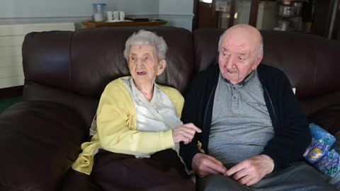 Mom Moves Into Care Home To Look After 80-Year-Old Son