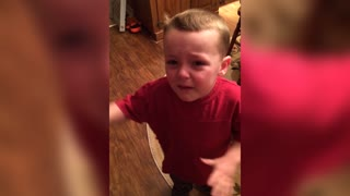 Cute Boy Learns The Hard Truth About Candy - Video