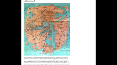 The Flat Earth  The Evolution Of Maps