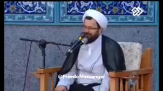 Akhond says: Iranian Youth don't like mullahs - Video