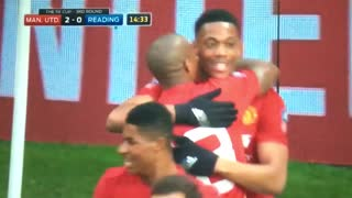 GOOOAL!! Great run and finish from Anthony Martial - Video