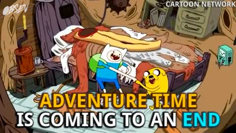 Adventure Time To End In 2018