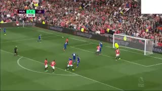 VIDEO : Marcus Rashford 3rd goal vs Leicester. Great assist from Juan Mata - Video