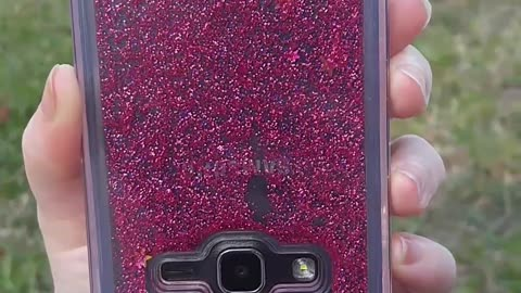 New Liquid Glitter Phone Case