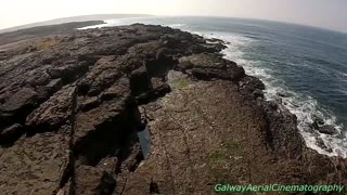 Beautiful drone footage of The Burren in Ireland - Video