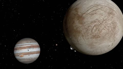 "NASA discovers potential water ""plumes"" on Jupiter's moon Europa"
