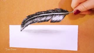 Easy 3D drawing illusion : 7 steps - Video
