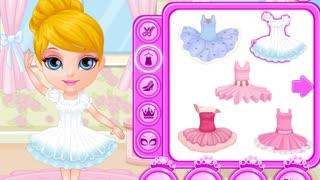 Baby Barbie Ballerina Costumes - Best Game for Little Girls - Video