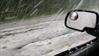 Stormy Hail in Washington - Video