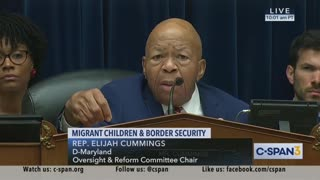Cummings questions border chief about immigrant children