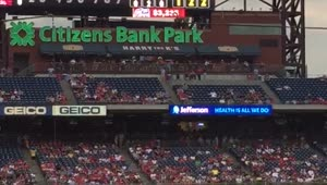 Squirrel dive bombs MLB dugout mid-game - Video