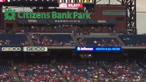 Squirrel dive bombs MLB dugout mid-game