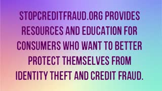 StopCreditFraud.org Resources - Video