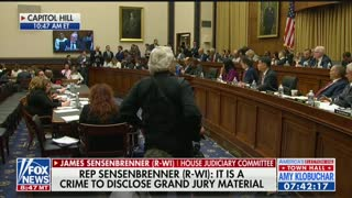 James Sensenbrenner speaks during hearing on Barr contempt vote