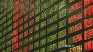 UK finance minister calls for London-Shanghai stock link - Video