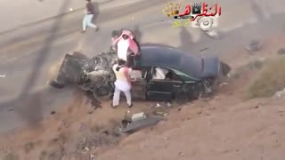 the worst car accident ! - Video