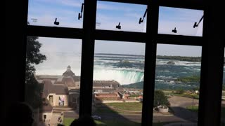 I got the best view of Niagra falls from my hotel