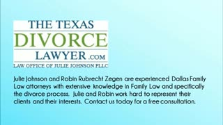 Dallas family law firm - Video