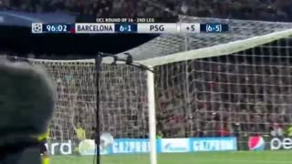 Sergi Roberto Goal vs PSG - Video