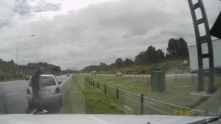 Hurried Driver Causes Crash - Video