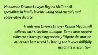 Henderson Divorce Lawyer - Video