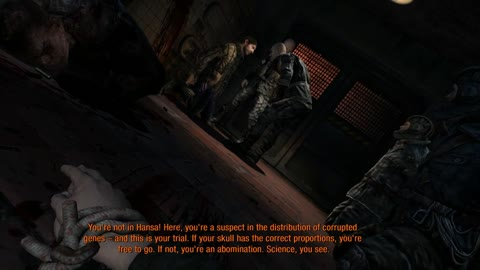 funny and crazy part in metro last light