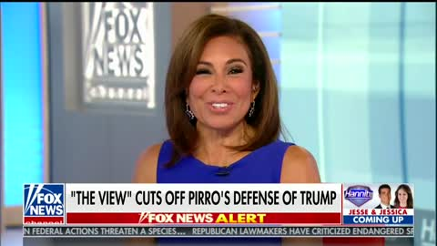 Pirro Says Goldberg's Blowup Made Her Feel 'Less Than Dirt'