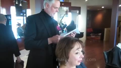 MAKEOVER: Diagonal Lines Slenderize, by Christopher Hopkins, The Makeover Guy®