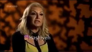Gaffe in Hayedeh singing - Video