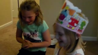 Heartwarming reaction after 6-year-old gets surprise birthday present - Video