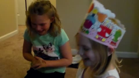 Heartwarming reaction after 6-year-old gets surprise birthday present