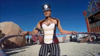 Burning Man Hula Hoop 2015 - Video