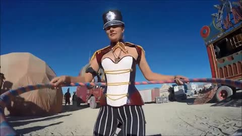 Burning Man Hula Hoop 2015