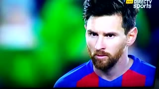 Impresionante tiro libre de Messi - Video