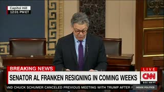 Al Franken Announces Resignation From Senate Amid Mounting Sexual Misconduct Claims 2 - Video