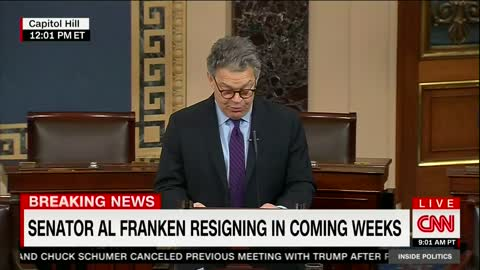 Al Franken Announces Resignation From Senate Amid Mounting Sexual Misconduct Claims 2