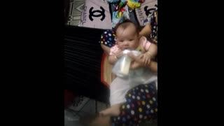 Baby girl does not drink milk