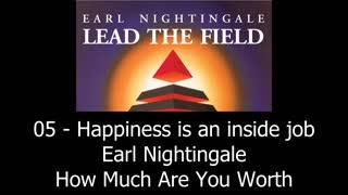 Happiness Is Inside Job - Earl Nightingale