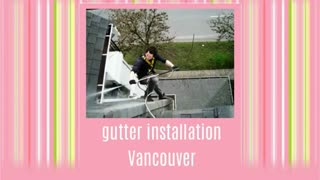 gutter cleaning Vancouver - Video