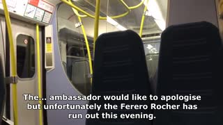 Smooth Talking British Train Conductor