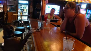 Boxer Loves To Be Serenaded By Singing Bartender