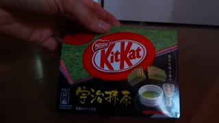Green tea flavored chocolate bars found in Japan - Video